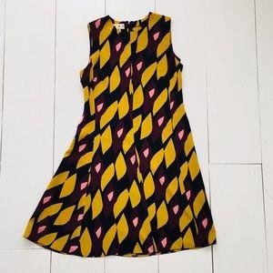 Marni Multi Color Silk Hortus Print Dress